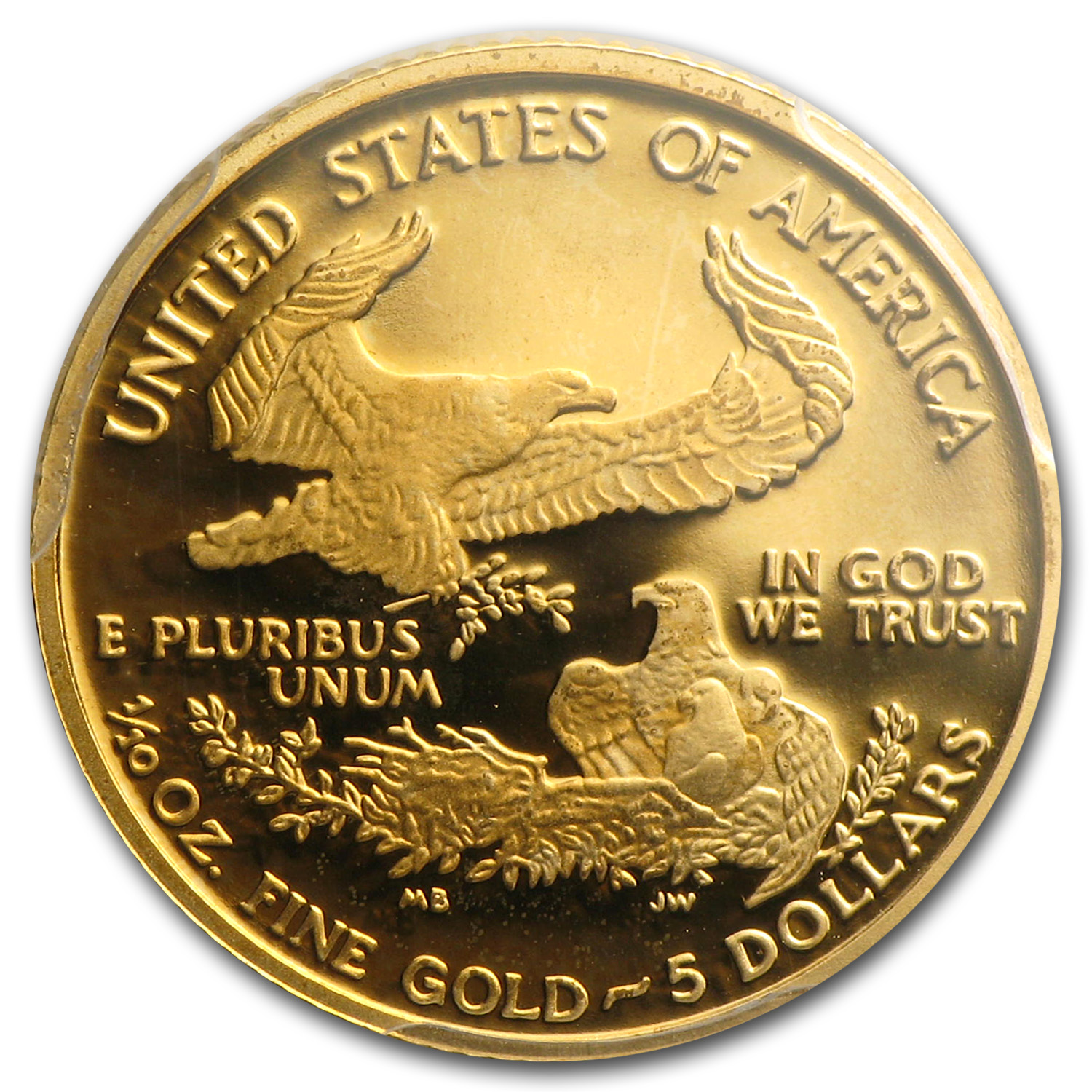 2005-W 1/10 oz Proof Gold American Eagle PR-69 PCGS